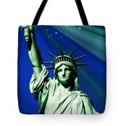 America Tote Bag by Diana Angstadt