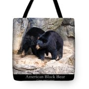 American Black Bear  Tote Bag by Chris Flees