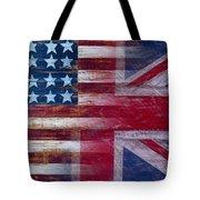 American British Flag Tote Bag by Garry Gay