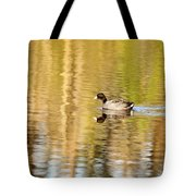 American Coot Tote Bag by Scott Pellegrin