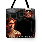 American Gothic Resurrection Home Sweet Home 20130715 Square Tote Bag by Wingsdomain Art and Photography