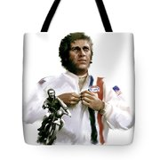 American Icon  Steve Mcqueen Tote Bag by Iconic Images Art Gallery David Pucciarelli