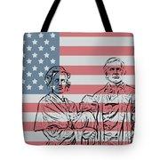 American Patriots Tote Bag by Dan Sproul