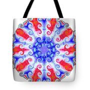American Peace Circle Tote Bag by Annette Allman