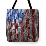 American Sacrifice Tote Bag by DJ Florek