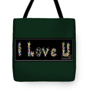 American Sign Language I Love U   Tote Bag by Eloise Schneider