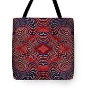 Americana Swirl Banner 2 Tote Bag by Sarah Loft