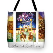 America's Great Venues Tote Bag by Joshua Morton