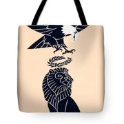 America's Tribute To Britain Tote Bag by Frederic G Cooper