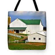 Amish Living Tote Bag by Frozen in Time Fine Art Photography