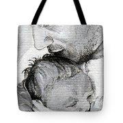 Amit And Mika Tote Bag by Tamir Barkan