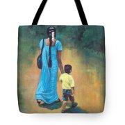 Amma's Grip Leads. Tote Bag by Usha Shantharam