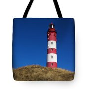 Amrum Lighthouse Tote Bag by Angela Doelling AD DESIGN Photo and PhotoArt