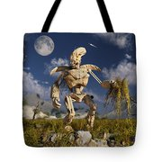 An Advanced Robot On An Exploration Tote Bag by Stocktrek Images
