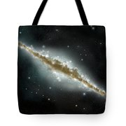 An Artists Depiction Of A Large Spiral Tote Bag by Marc Ward