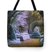 An English Garden Tote Bag by Jason Kolenda