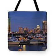 An Evening On The Charles Tote Bag by Joann Vitali