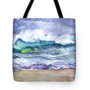 AN ODE TO THE SEA Tote Bag by Carol Wisniewski