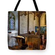 Ancient Chapel 2 Tote Bag by Adrian Evans