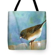 And Down I Go Tote Bag by Betty LaRue