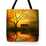 And I Will Wait For You Until The Sun Goes Down Tote Bag by Tara Turner