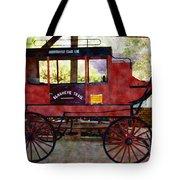 Andersonville Stage Line Slosheye Trail Tote Bag by Kim Pate