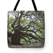 Angel Oak II Tote Bag by Suzanne Gaff