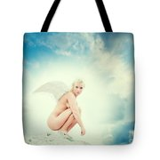 Angel Tote Bag by Stelios Kleanthous
