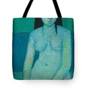 Angelina Nude Tote Bag by Endre Roder