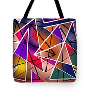 Angular Tote Bag by Stephen Younts