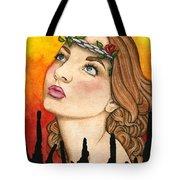 Anima Sola Tote Bag by Nora Blansett