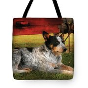 Animal - Dog - Always Faithful Tote Bag by Mike Savad