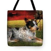 Animal - Dog - Always Faithful Tote Bag by Mike Savad