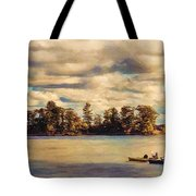 Anne Lacys Hamlin Lake Tote Bag by Lianne Schneider and Anne Lacy