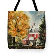 Antebellum Autumn Ironton Missouri Tote Bag by Kip DeVore