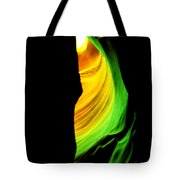 Antelope Canyon Abstract Tote Bag by Aidan Moran
