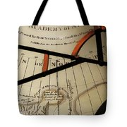 Antiquaria Nautica Tote Bag by RC DeWinter
