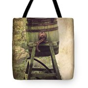 Antique Butter Churn Tote Bag by Linsey Williams
