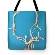 Aphrodite Pandemos Necklace Tote Bag by Augusta Stylianou