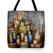 Apothecary - For All Your Aches And Pains  Tote Bag by Mike Savad