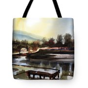 Approaching Dusk II Tote Bag by Kip DeVore
