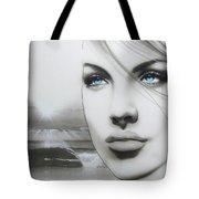 'aqua Marine' Tote Bag by Christian Chapman Art