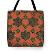 Arabic Decorative Design Tote Bag by Emile Prisse dAvennes