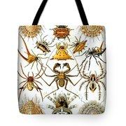 Arachnida Tote Bag by Nomad Art And  Design