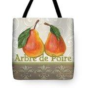 Arbre De Poire Tote Bag by Debbie DeWitt