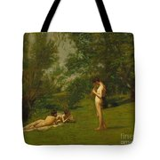 Arcadia circa 1883 Tote Bag by Thomas Cowperthwait Eakins