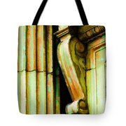 Archatectural Elements  Digital Paint Tote Bag by Debbie Portwood