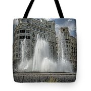 Architecture Valencia V Tote Bag by Erik Brede