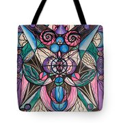 Arcturian Healing Lattice  Tote Bag by Teal Eye  Print Store