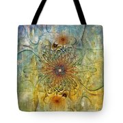 Are There Faces Tote Bag by Deborah Benoit